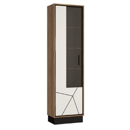 Brolo Tall glazed display cabinet (LH)